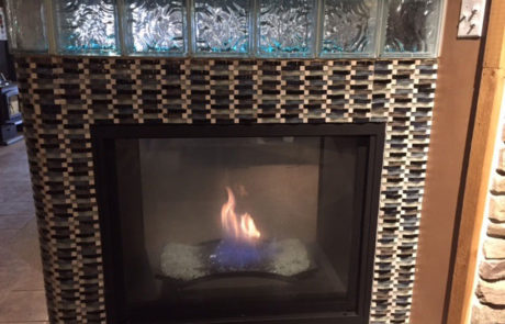 Napoleon BHD4 See Thru Gas Fireplace