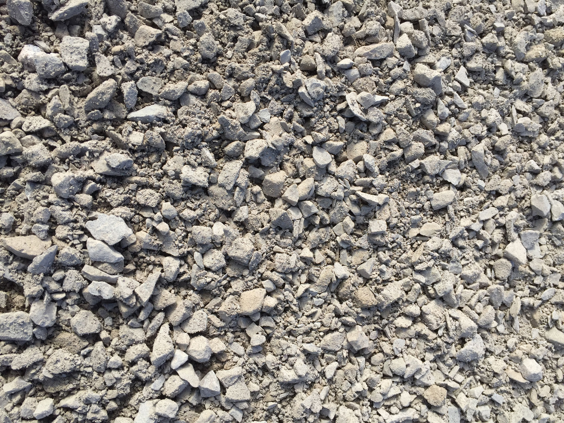 How much does a ton of 3 4 gravel cover